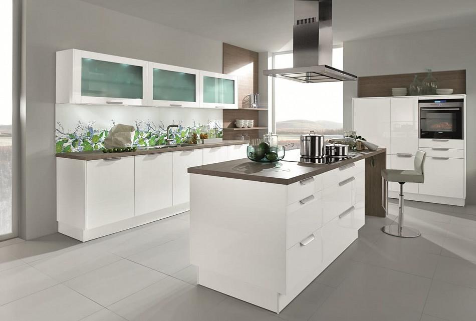 Küche Quelle  Trend Einbauküche Lizzola Weiss Hochglanz Lack Küchen Quelle