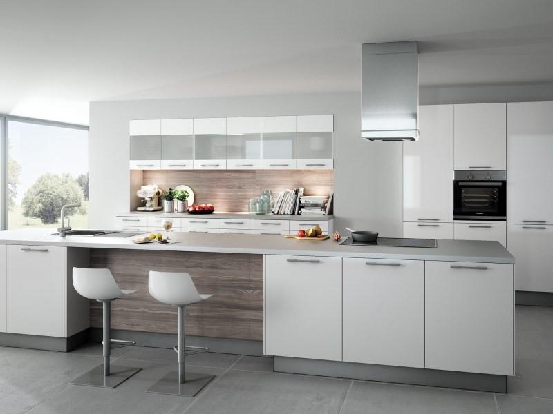 Küche Quelle  Küche Almandin Polarweiß von Küchen Quelle
