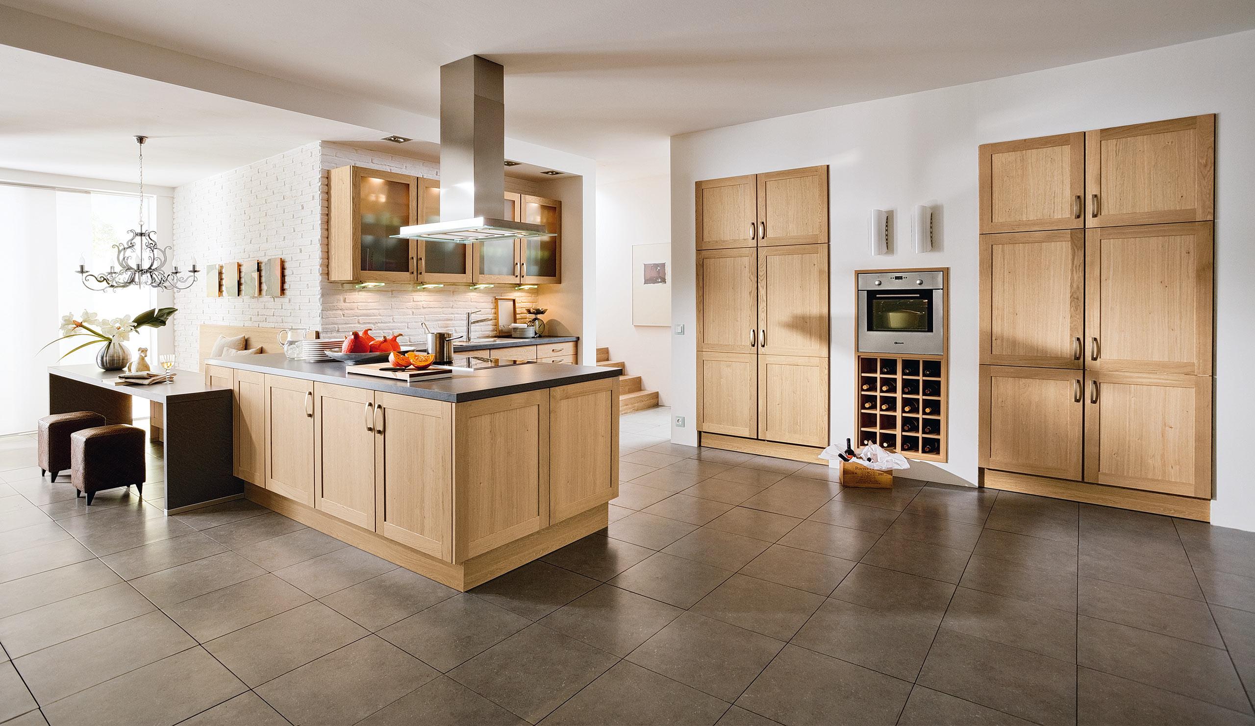 Küche Quelle  Landhaus Einbauküche Arlett Wildeiche Küchen Quelle
