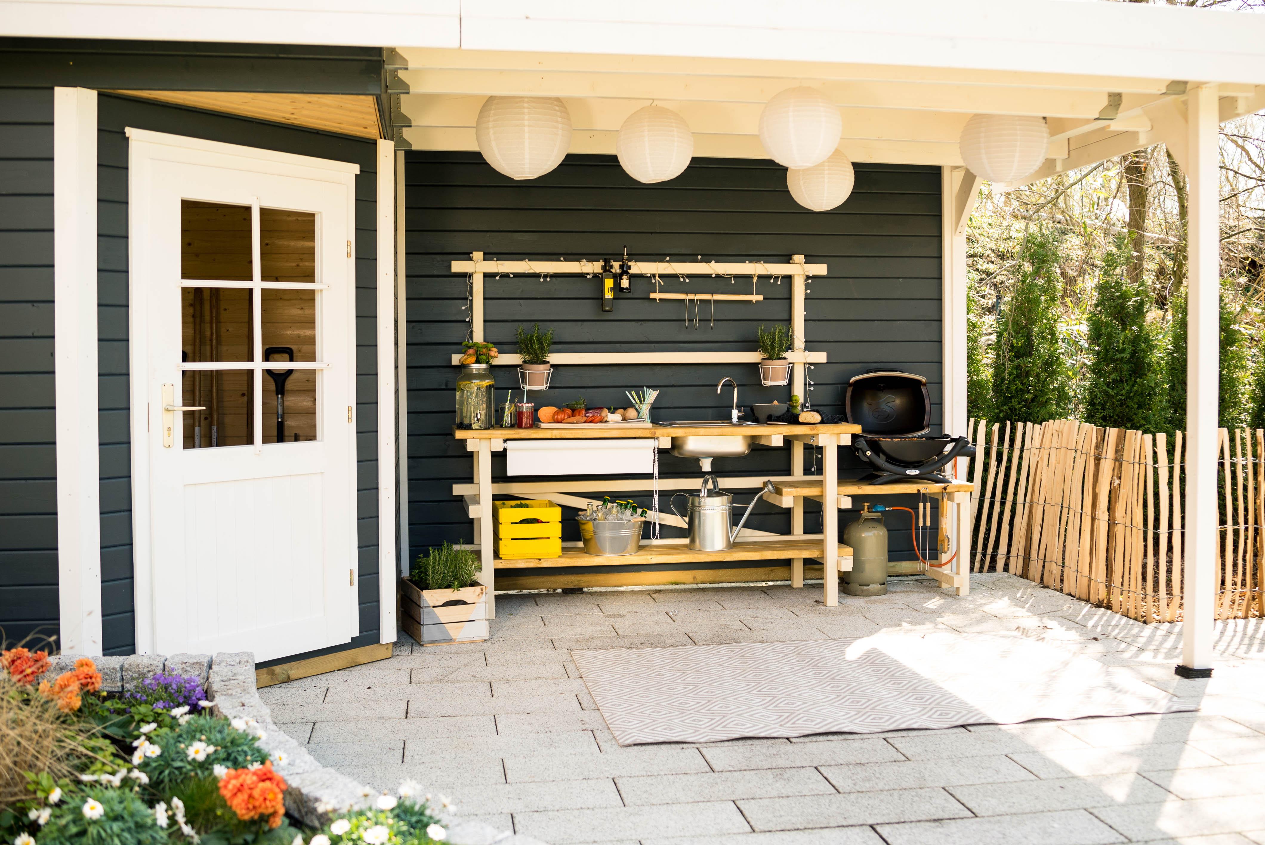Küche Selber Bauen  Outdoor Küche aus Holz bauen – Tipps zur Planung