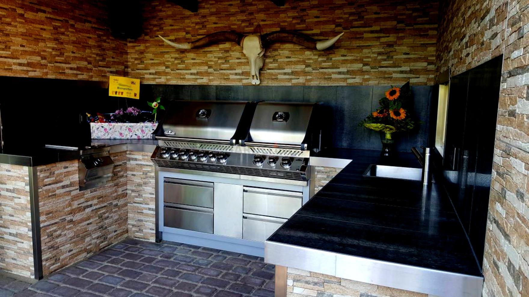Küche Selber Bauen  Outdoor Küche Dach Hervorragend Selber Bauen Erstaunlich
