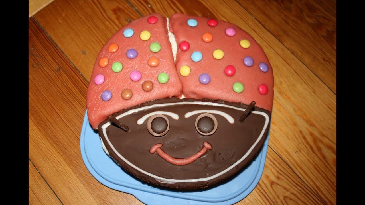Kuchen Für Kindergeburtstag  Kuchen für Kindergeburtstag Marienkäferkuchen