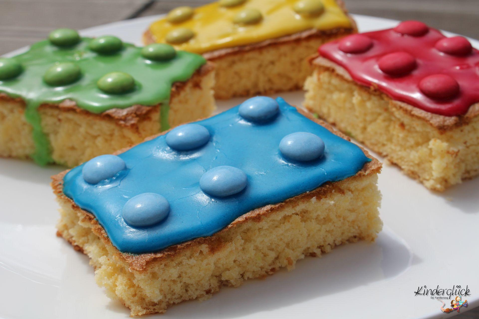 Kuchen Für Kindergeburtstag  Baustein Kuchen für den Kindergeburtstag • Kinderglück