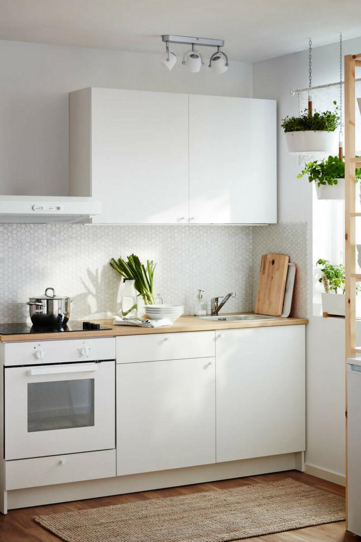 Küchenblock Ikea  Farbkonzepte für Küchenplanung 12 neue Ideen und
