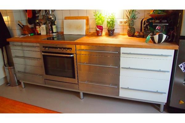 Küchenblock Ikea  Küche Ikea Faktum und Pronorm Oberschränke in München