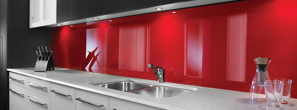Küchenrückwand Kunststoff  Küchenrückwand aus Plexiglas