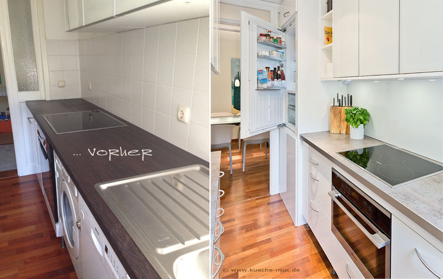 Küchenrückwand Kunststoff  Wir renovieren Ihre Küche Rueckwand fuer Kueche