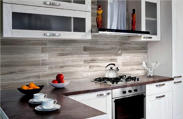 Küchenrückwand Kunststoff  Genial Küchenrückwand Kunststoff Steinfliesen Platten