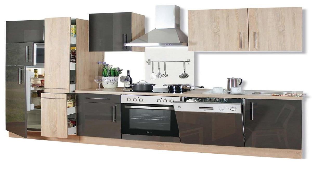 Küchenzeile Roller  Küchenzeilen mit E Geräten günstig online kaufen auf roller