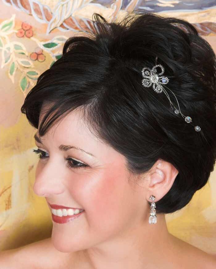 Kurze Haare Hochzeit  Brautfrisur kurze Haare Bildergalerie Hochzeitsportal24