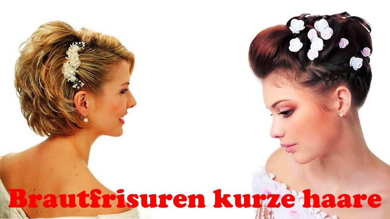 Kurze Haare Hochzeit  Brautfrisuren kurze haare