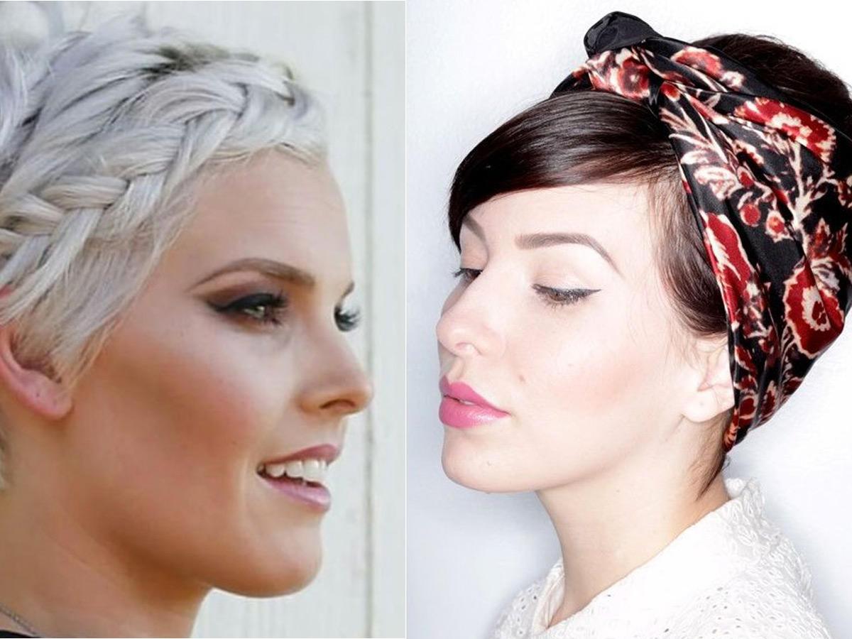 Kurze Haare Hochzeit  Frisuren Hochsteckfrisuren für kurze Haare