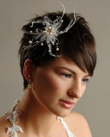 Kurze Haare Hochzeit  Haarschmuck kurze haare