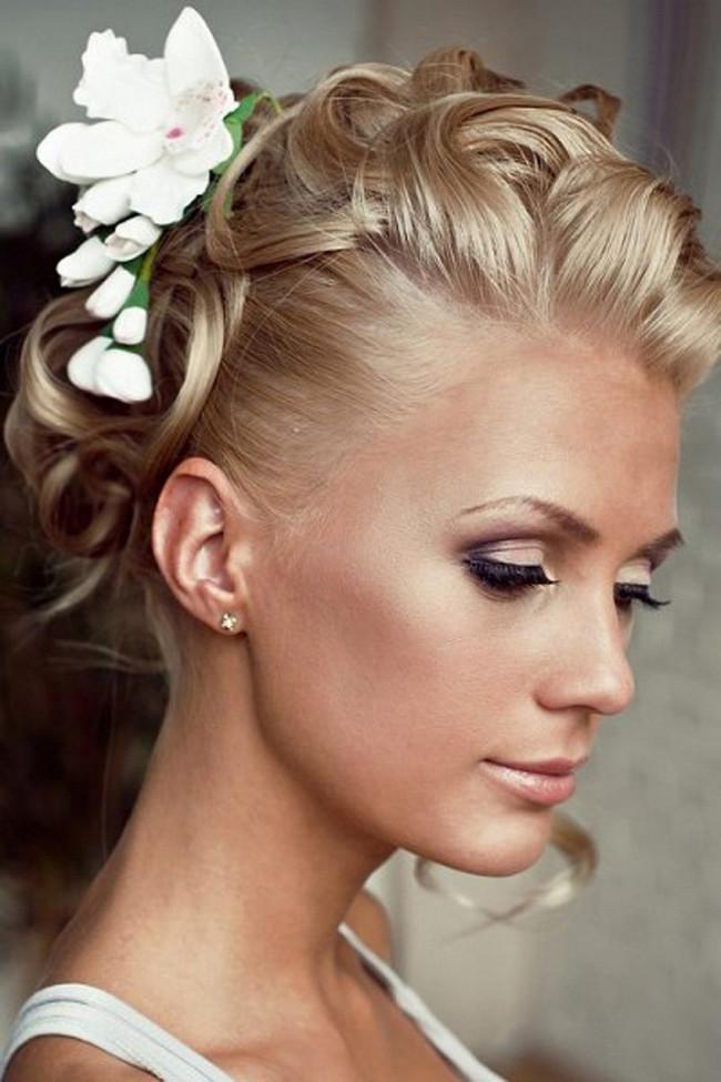 Kurze Haare Hochzeit  Hochsteckfrisuren Kurze Haare Hochzeit Kurzhaarfrisuren
