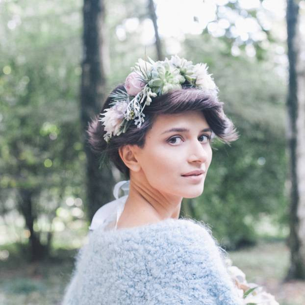 Kurze Haare Hochzeit  Brautfrisuren für kurze Haare – 7 hübsche Ideen
