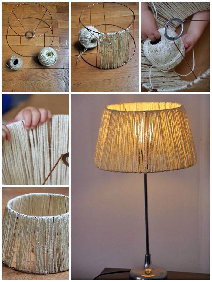 Lampe Selber Bauen  1001 Ideen und Anleitungen wie Sie Lampen selber machen