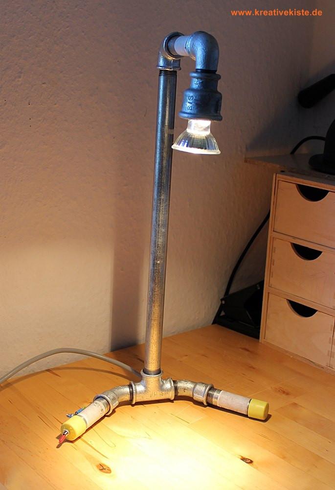 Lampe Selber Bauen  Fitting Lampe
