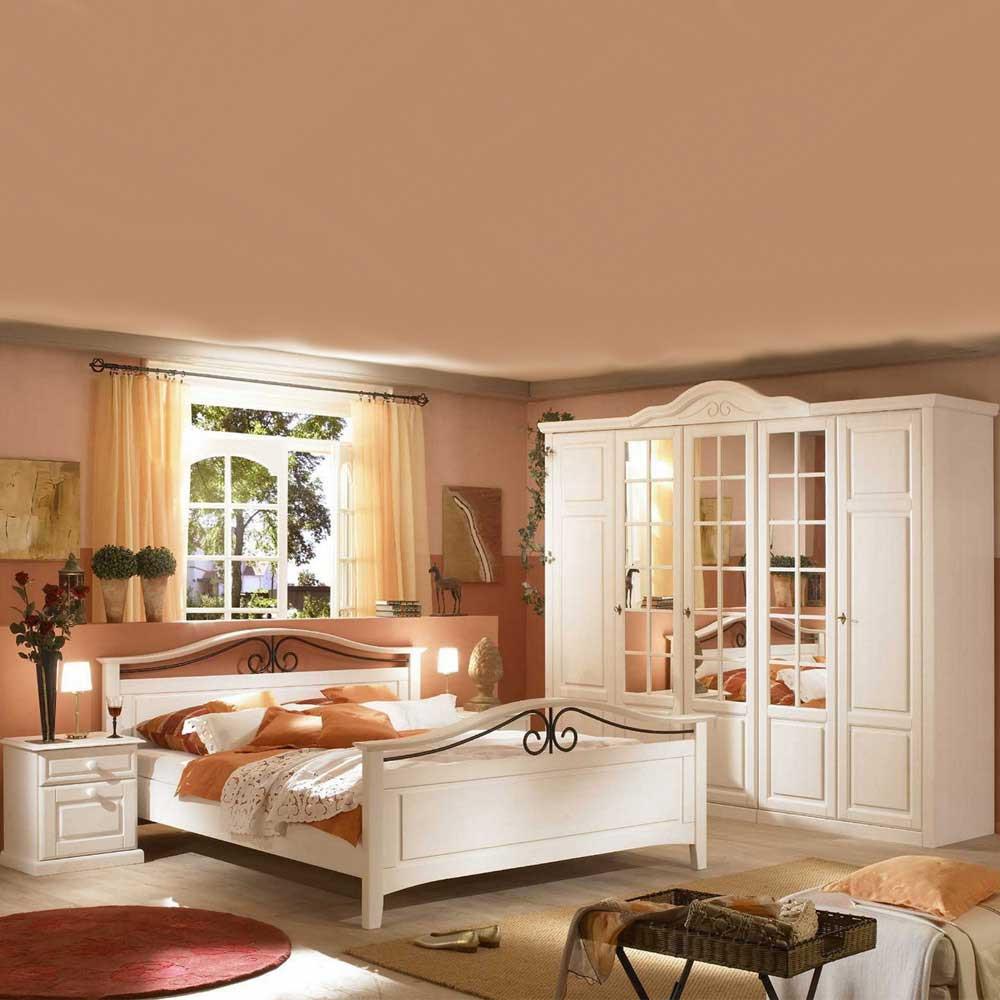 Landhaus Schlafzimmer  Komplettes Landhaus Schlafzimmer Mariana