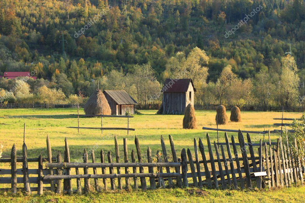 Landschaft In Rumänien  Landschaft in der Bukowina Rumänien — Stockfoto
