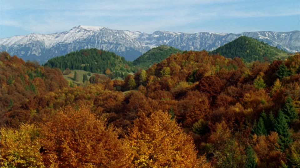 Landschaft In Rumänien  Landschaft Siebenbürgen Rumänien