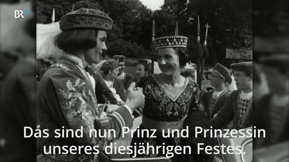 Landshuter Hochzeit Programm  BR24Zeitreise vom 06 03 2017 Landshuter Hochzeit 1962