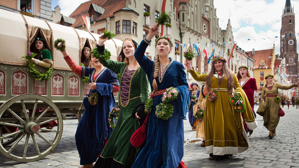 Landshuter Hochzeit Programm  Lagerleben wie im Mittelalter Die Landshuter Hochzeit