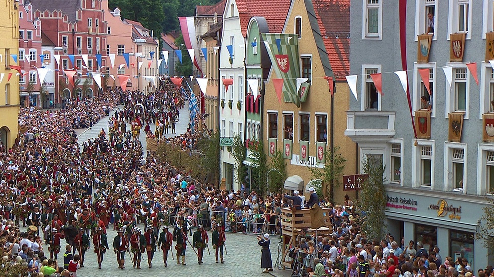 Landshuter Hochzeit Programm  Alpen Donau Adria Spezial Die Landshuter Hochzeit