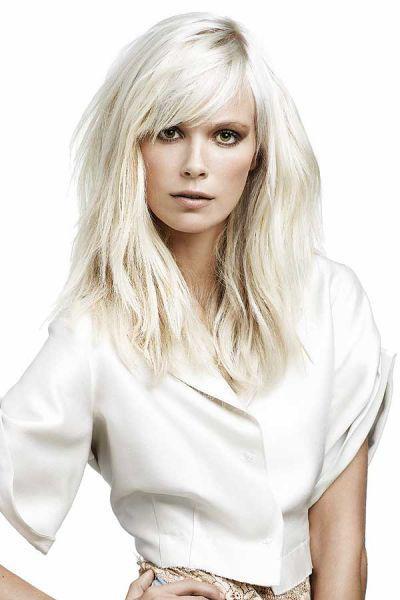 Langes Haar Frisuren  Frisuren Trends 2010 für mittellanges und langes Haar