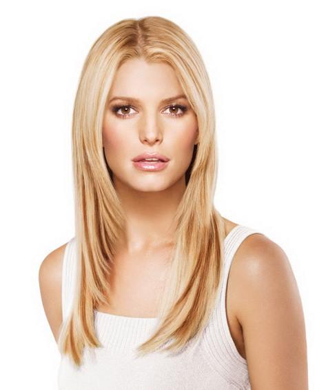Langes Haar Frisuren  Frisuren für langes dünnes haar