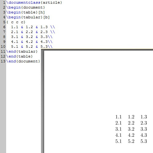 Latex Tabelle  Tabelle erstellen in LaTeX so geht s CHIP