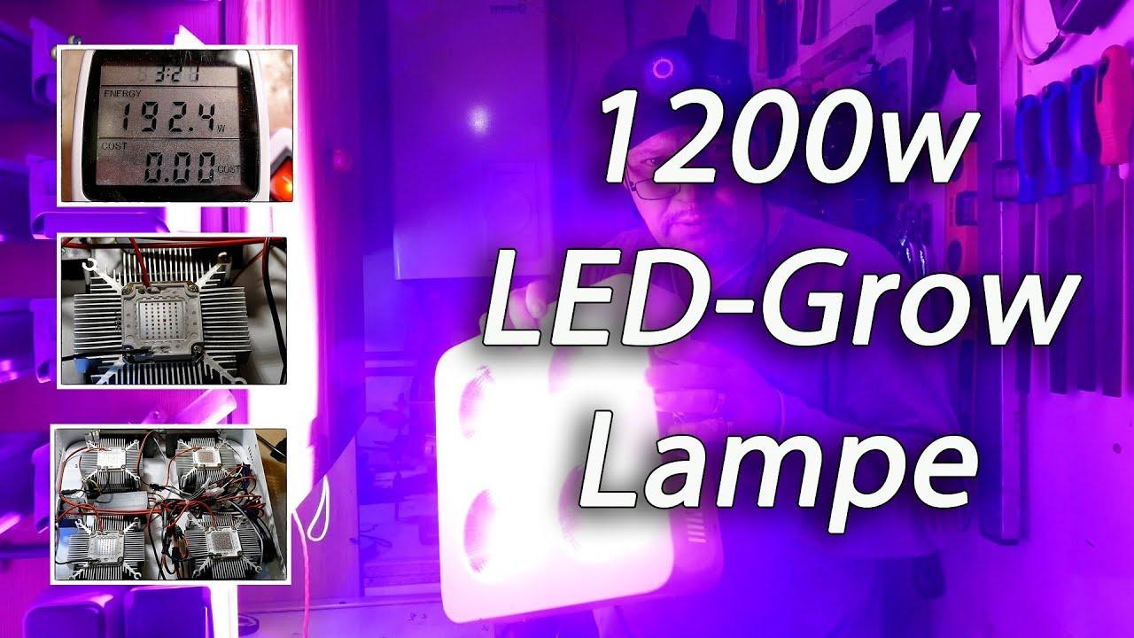 Led Grow Lampe  1200w Led Grow Lampe