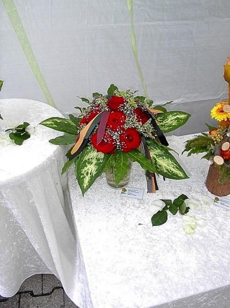 Lederne Hochzeit  Tanja s Blumenstube Blumen & Floristik in Stuttgart