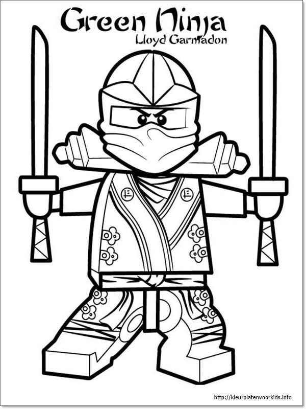 Lego Ausmalbilder Ninjago  Ausmalbilder zum Ausdrucken Ausmalbilder Ninjago Lloyd