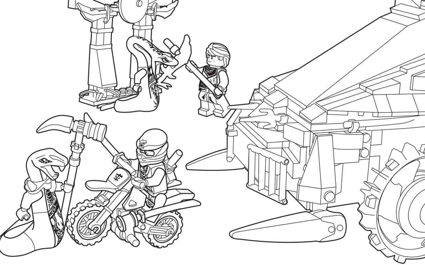 Lego Ausmalbilder Ninjago  Ausmalbilder LEGO NINJAGO LEGO DE