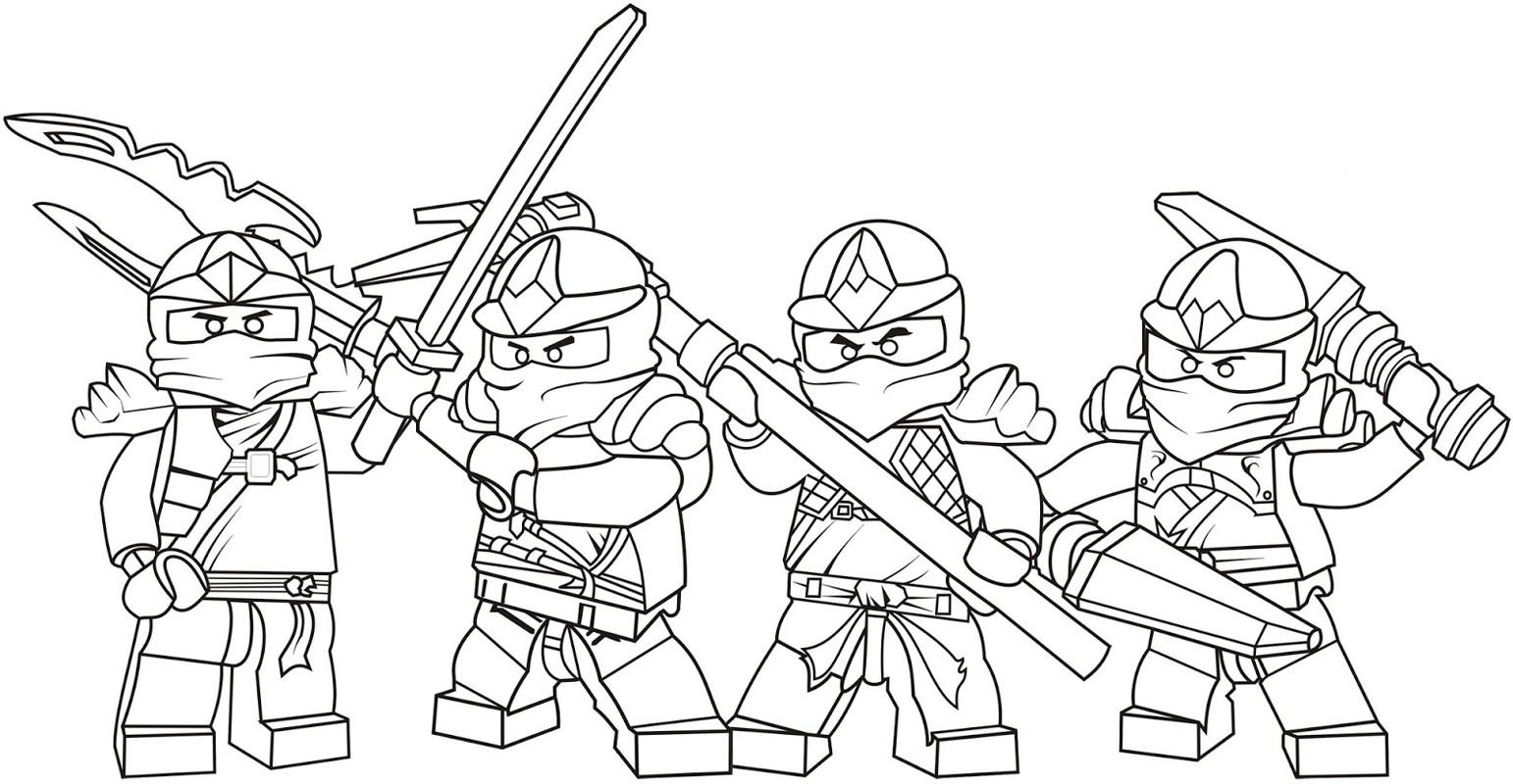 Lego Ausmalbilder Ninjago  Ausmalbilder zum Ausdrucken Ausmalbilder Lego Chima zum