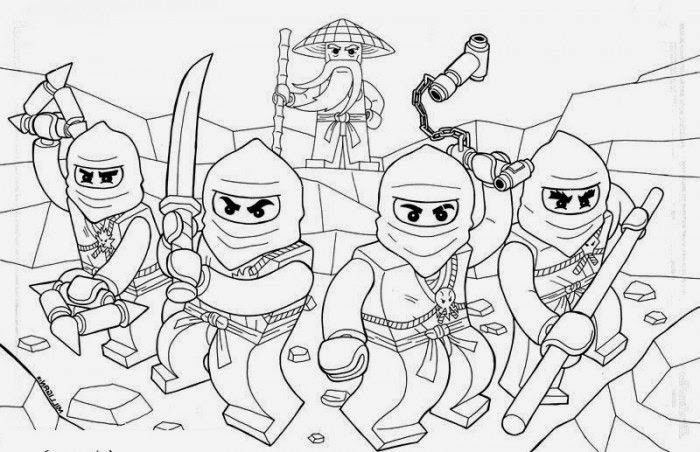 Lego Ausmalbilder Ninjago  Ausmalbilder Lego Ninjago