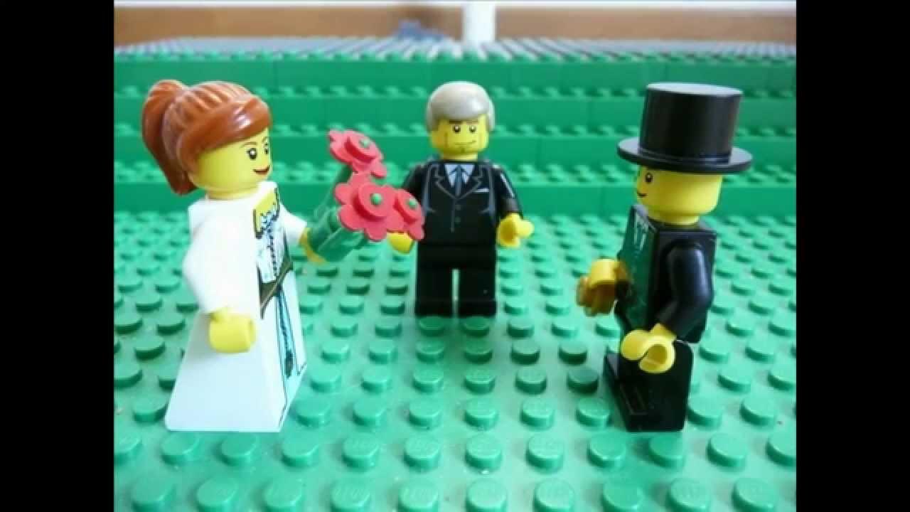 Lego Hochzeit  Lego Brickfilm Die Hochzeit