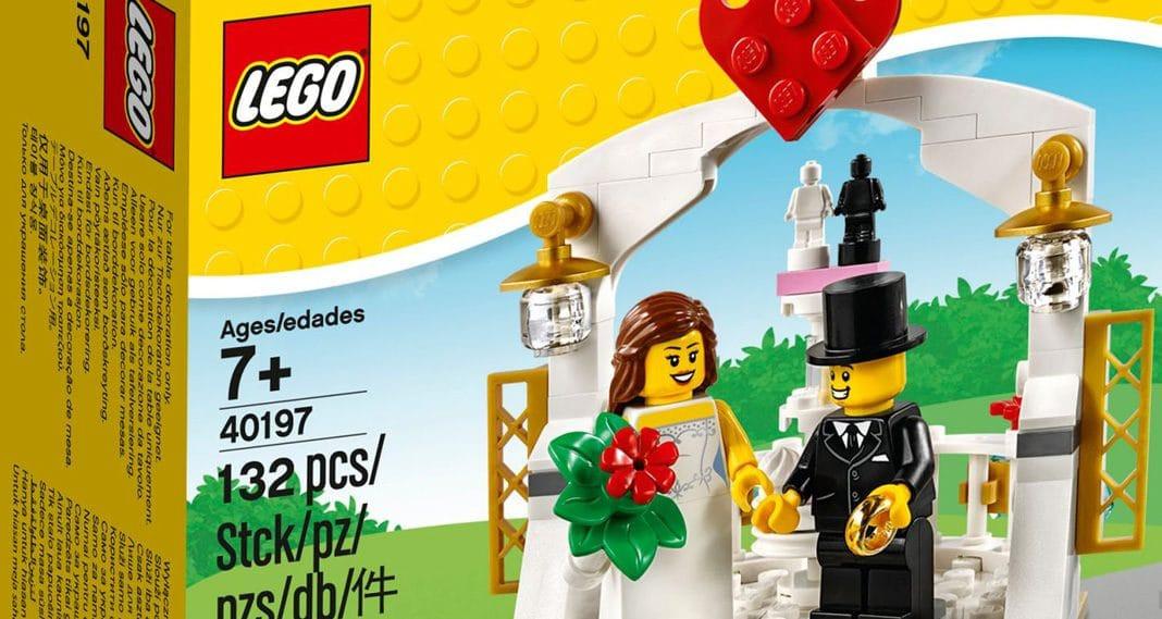 Lego Hochzeit  LEGO Seasonal Neues Hochzeits Set kommt in 2018