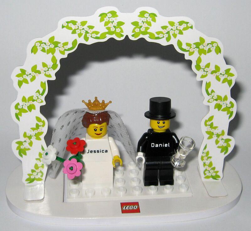 Lego Hochzeit  Lego Steindrucker Marketing Bausteine