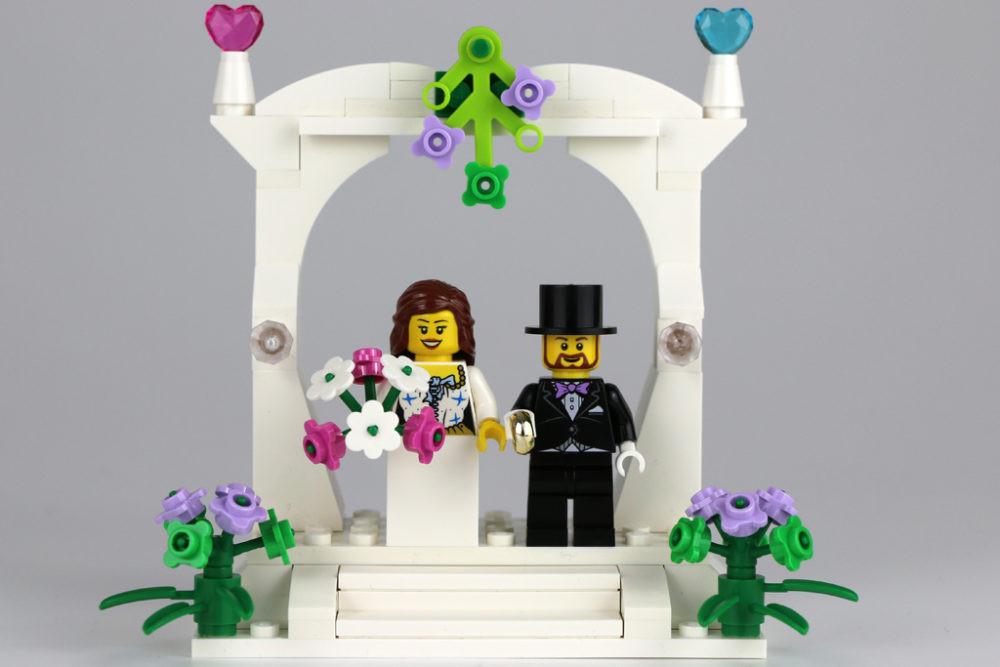 Lego Hochzeit  Exklusives Lego Minifiguren Hochzeits Set 2016 im
