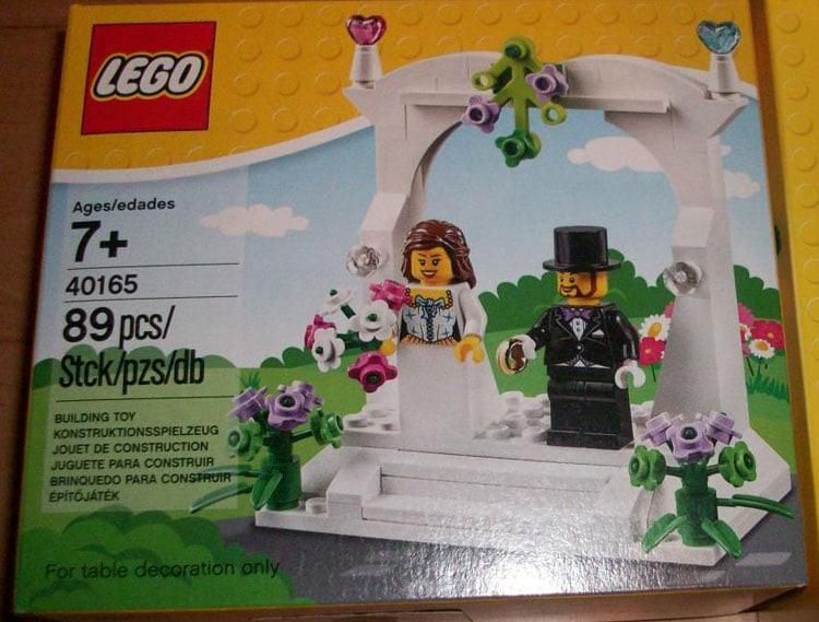 Lego Hochzeit  Neues LEGO Minifiguren Hochzeits Set für