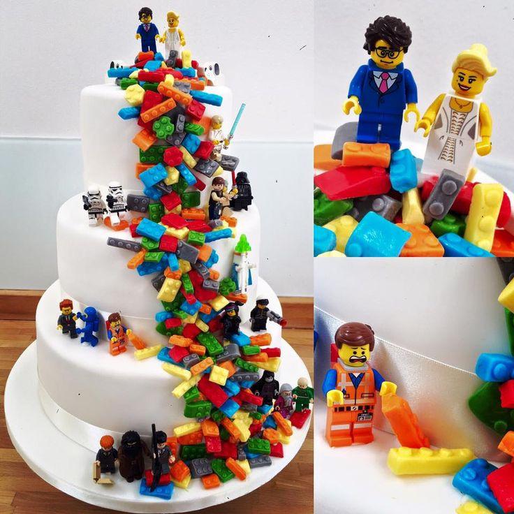 Lego Hochzeit  Die besten 25 Lego hochzeitstorten Ideen auf Pinterest