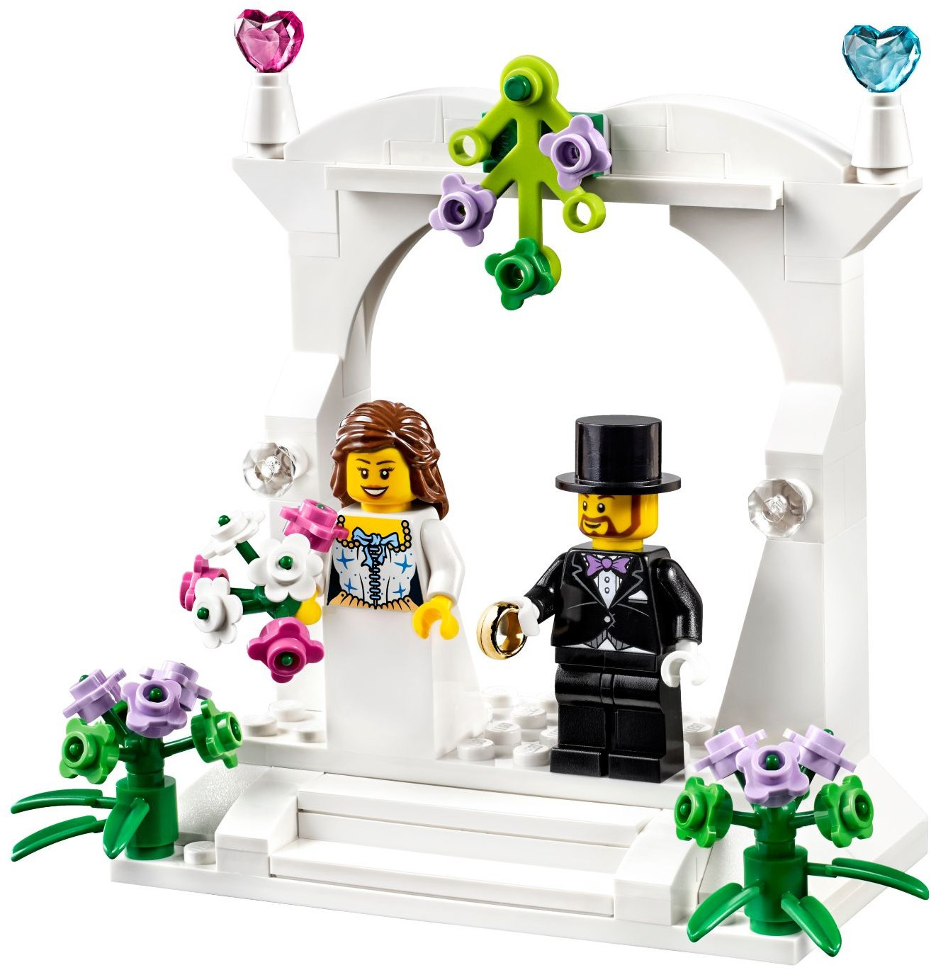 Lego Hochzeit  How To Make Your Own LEGO Wedding Favours