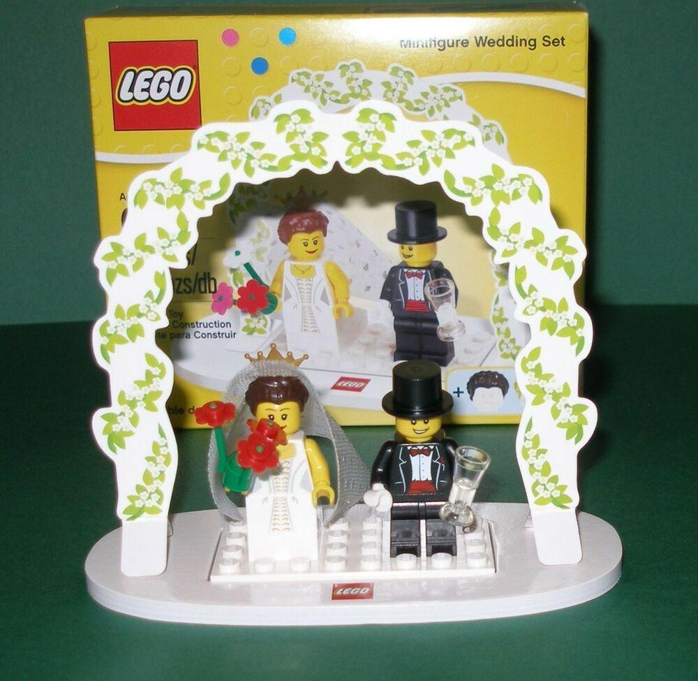Lego Hochzeit  Lego Hochzeitspaar Brautpaar Tisch und Torten