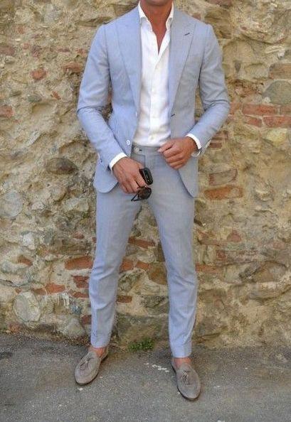 Leinen Anzug Herren Hochzeit  Pin von Sergio Ferrera auf Italian Men´s Styl