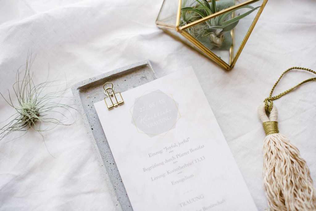 Hochzeit Lesung
