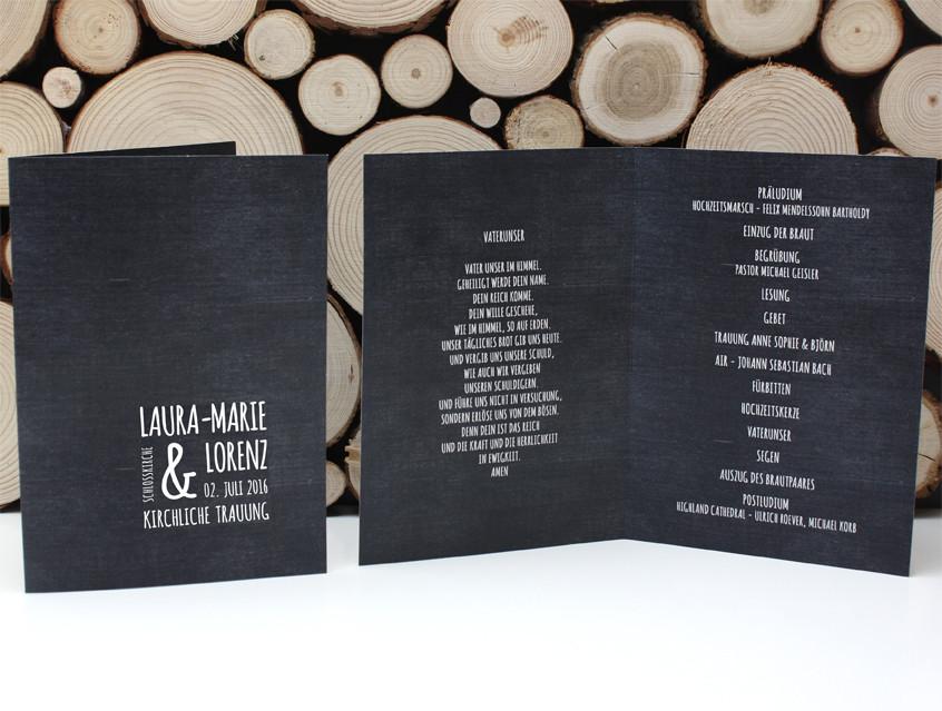 Lesung Hochzeit Modern