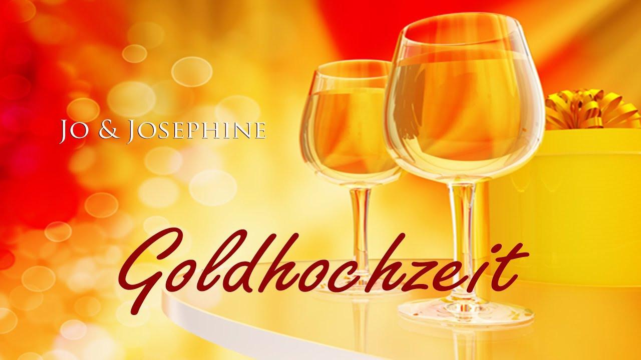 Lied Hochzeit  Goldhochzeit Lied zur Goldenen Hochzeit