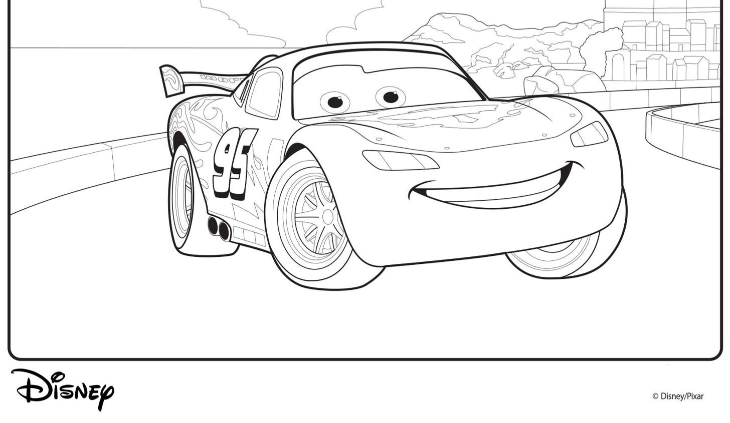 Lightning Mcqueen Ausmalbilder  Disney Cars Malvorlagen