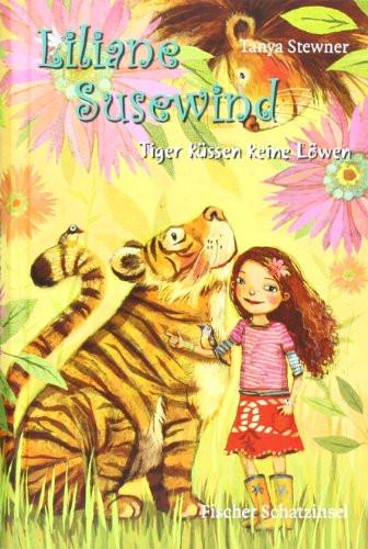Liliane Susewind Ausmalbilder  Liliane Susewind Tiger küssen keine Löwen EAN